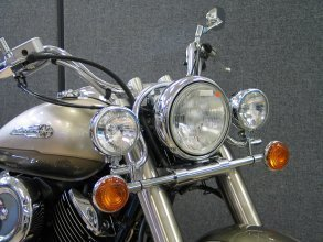 Highway Hawk SPEEDO VISOR YAMAHA XVS 1100 //CLASSIC