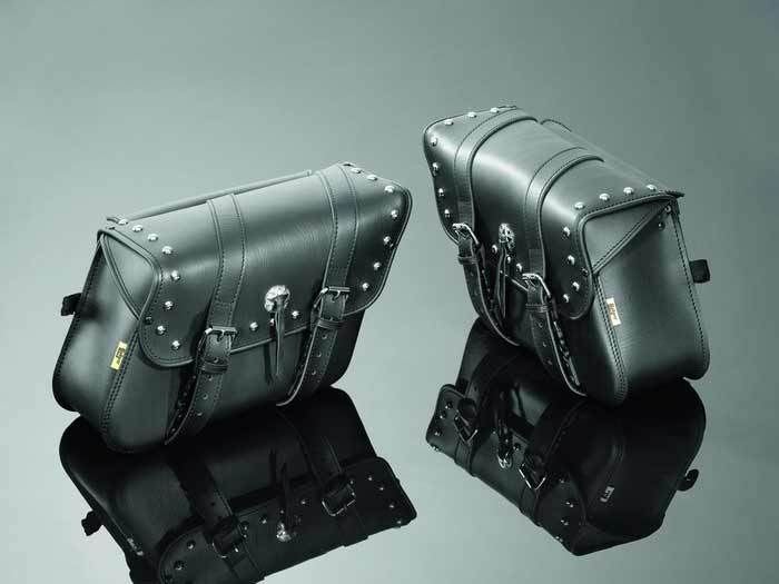 SADDLEBAGS 36X14X26 REAL STUDDED
