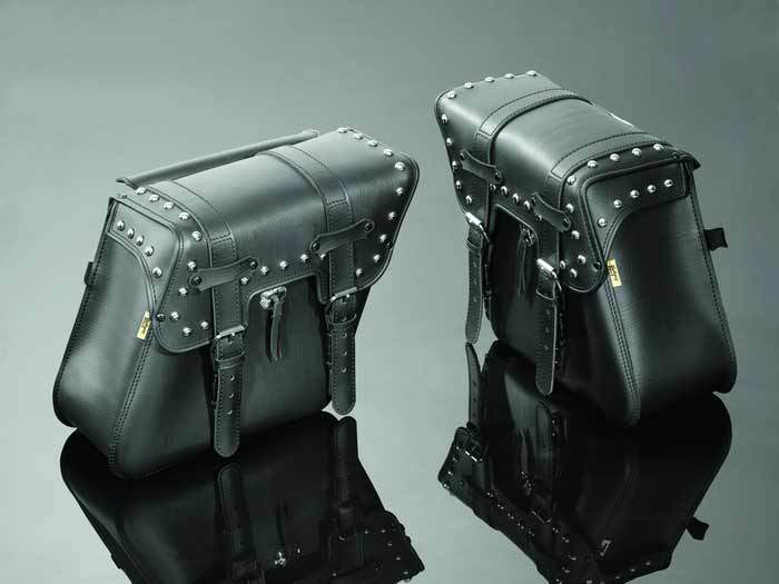 SADDLEBAGS 48X14X34 REAL STUDDED