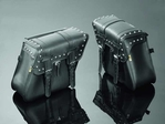 SADDLEBAGS 48X14X34 TEK STUDDED