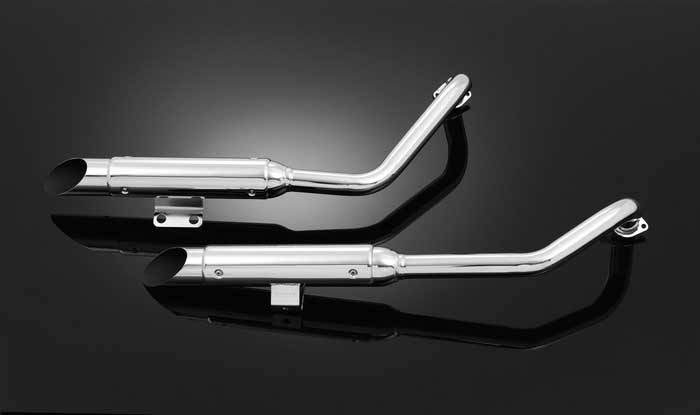 LS*EXHAUST SYSTEM WITH COVER SUZUKI M1800R