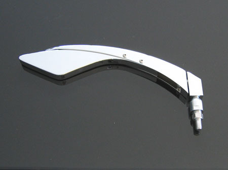 LS*MIRROR SLIDER RIGHT, LENGTH OF MIRROR STEM IS ADJUSTABLE IN 5 POSITION