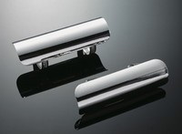 UNIVERSAL EXHAUST HEAT SHIELDS, CHROME