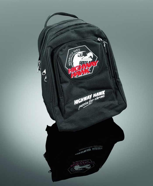 RUCKSACK 'HIGHWAY HAWK' WITH PADDED BACKSIDE
