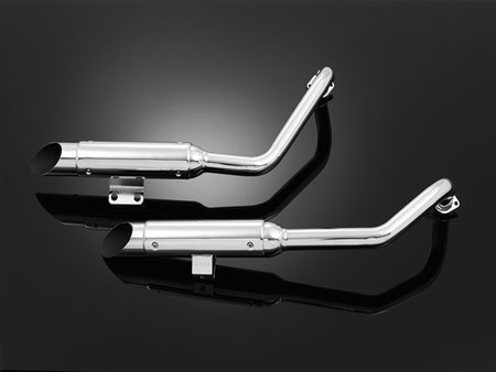 LS*EXHAUST SYSTEM WITH COVER M1500 INTRUDER