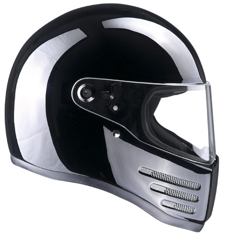 BANDIT HELMET FIGHTER GLOSSY BLACK S