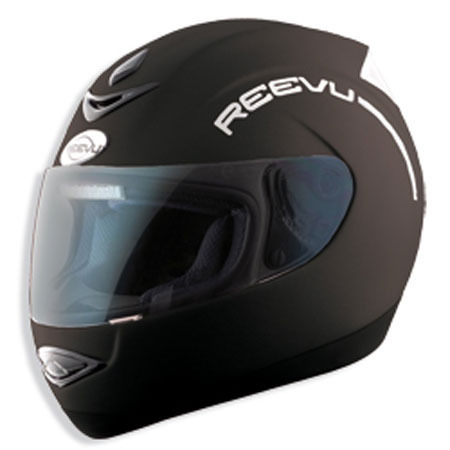 REAR VIEW HELMET REEVU MSX1 BLACK MATT M