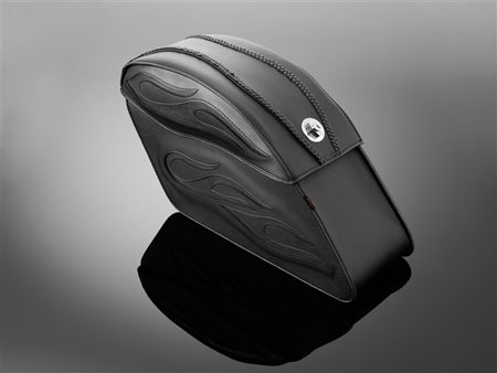 SADDLEBAGS 66X19X37 TEK FLAME LARGE
