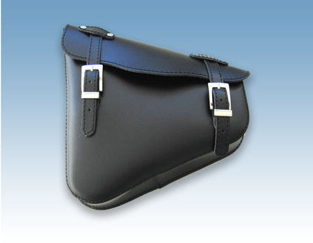 REAL LEATHER SWINGARM SADDLEBAG PLAIN UNIVERSAL
