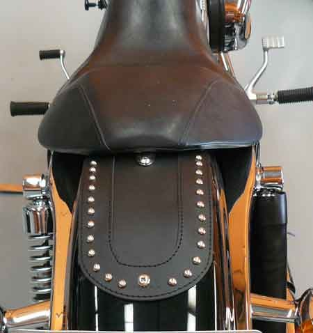 STUDDED REAR FENDER COVER FOR HARLEY SPORTSTER