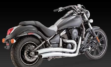 VANCE & HINES BIG RADIUS PC 2-2 FOR VULCAN 900, 06-UP