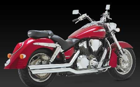 VANCE & HINES BIG SHOTS FOR HONDA VTX 1800 R,N 02-08