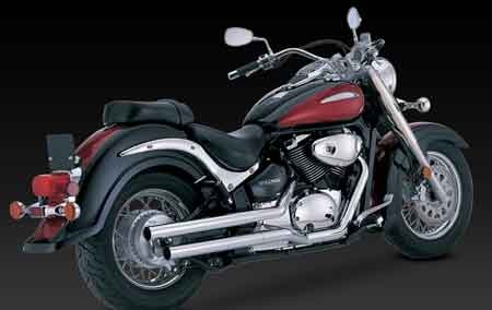 VANCE & HINES STRAIGHTSHOTS FOR VOLUSIA VL800/ M800/ C50 / M50 01-10