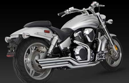VANCE & HINES BIG SHOTS FOR HONDA VTX 1800 C,F, 02-08