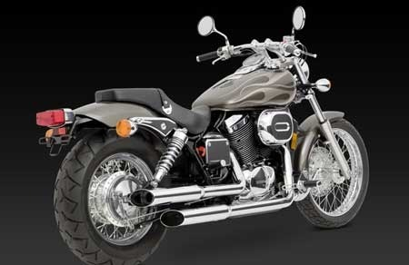 VANCE & HINES CRUZERS FOR HONDA VT750 SHADOW SPIRIT 01-07