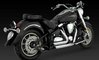 VANCE & HINES SHORTSHOTS STAGGERED FOR YAMAHA XV1600 / XV1700 WILD STAR/ ROAD STAR, 99-07