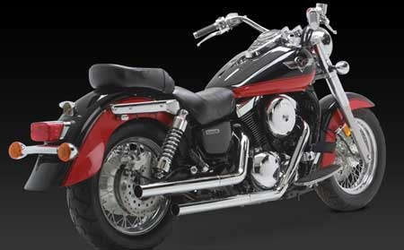 VANCE & HINES STRAIGHTSHOT FOR KAWASAKI 1500/ 1600 MEANSTREAK 96-08/ VULCAN 1500 CLASSIC 96-08
