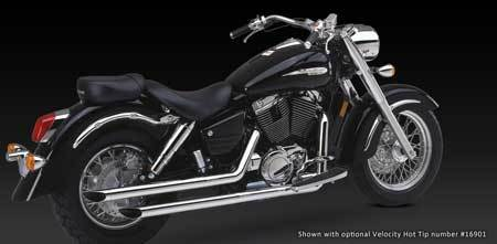 VANCE & HINES STRAIGHTSHOTS FOR HONDA SHADOW 1100 AERO 98-02