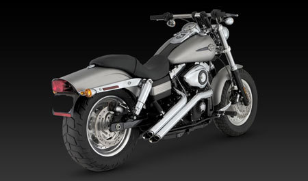 VANCE & HINES SIDESHOTS FOR HD DYNA 06-11