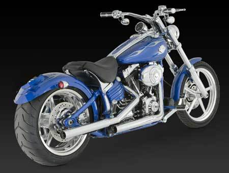 VANCE & HINES STRAIGHTSHOTS HS SLIP-ONS FOR HD SOFTAIL '07-'17