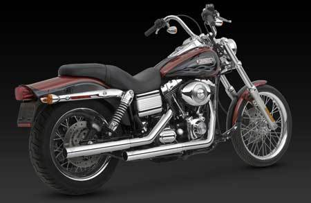 VANCE & HINES STRAIGHTSHOTS HS SLIP-ONS FOR HD DYNA 91-UP