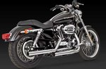 VANCE & HINES STRAIGHTSHOT HS SLIP-ONS FOR HD SPORTSTER 04-UP