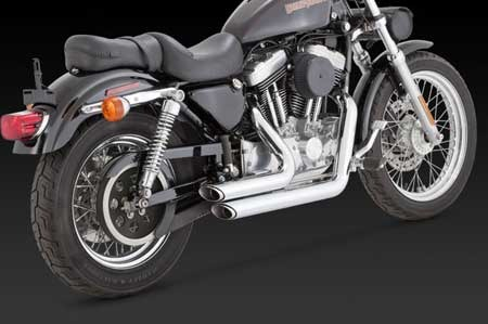 VANCE & HINES SHORTSHOTS STAGGERED FOR HD SPORTSTER 99-03