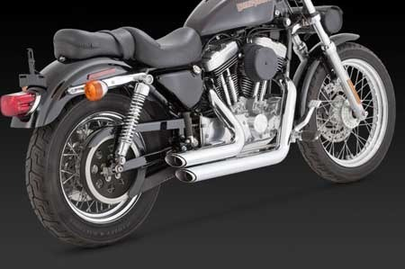Vance /& Hines Chrome Shortshots Staggered Exhaust 99-03 H-D XL Sportster 17223