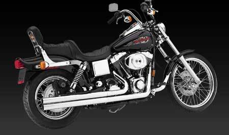 VANCE & HINES LONGSHOTS ORIGINAL FOR HD DYNA 91-06