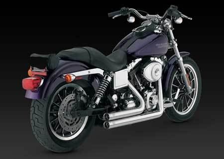VANCE & HINES SHORTSHOTS ORIGINAL FOR HD DYNA 95-07