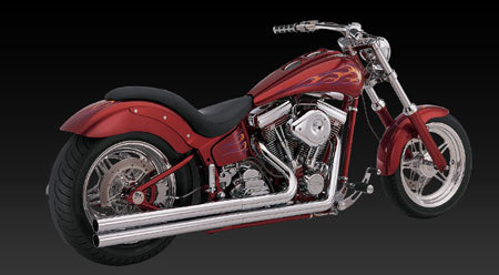 VANCE & HINES LONGSHOTS FOR SOFTAIL 86-06
