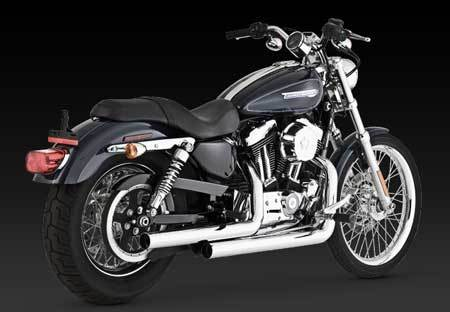 VANCE & HINES STRAIGHTSHOTS FOR HD SPORTSTER 04-06