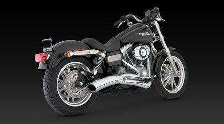VANCE & HINES BIG RADIUS 2-INTO-1 FOR HD DYNA 06-11