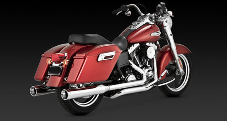 VANCE & HINES SWITCHBACK MONSTER DUALS FOR HD DYNA 12-UP
