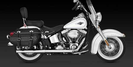 VANCE & HINES DUALS FOR HD SOFTAIL 12-UP