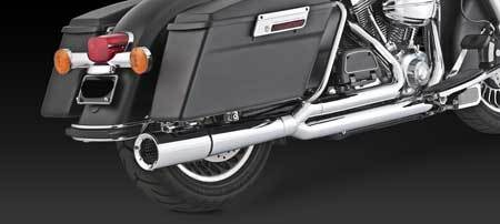 VANCE & HINES PRO PIPE CHROME FOR HD TOURING 99-08