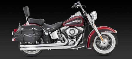 VANCE & HINES BIG SHOTS LONG FOR HD SOFTAIL 12-UP