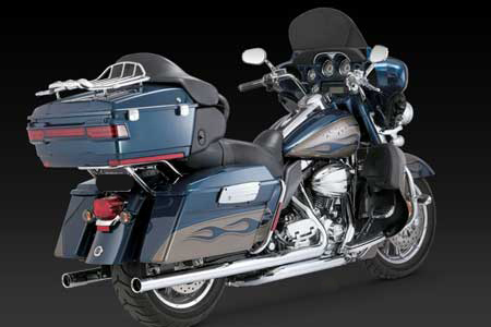 VANCE & HINES BIG SHOT DUALS FULL SYSTEM FOR HD TOURING 10-UP