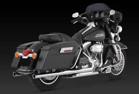 VANCE & HINES BIG SHOT DUALS FOR HD TOURING 09