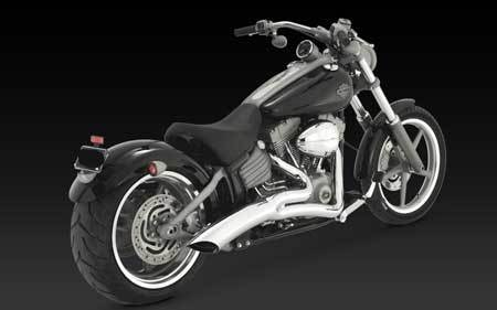 VANCE & HINES BIG RADIUS 2-INTO-1 FOR HD SOFTAIL 12-UP