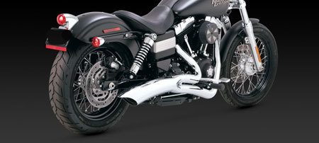 VANCE & HINES BIG RADIUS 2-INTO-1 FOR HD DYNA 12-UP