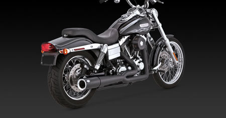 VANCE & HINES PRO PIPE BLACK FOR HD DYNA 06-11