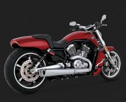 Vance & Hines Competition Series V-Rod Slip-ons '09-'17