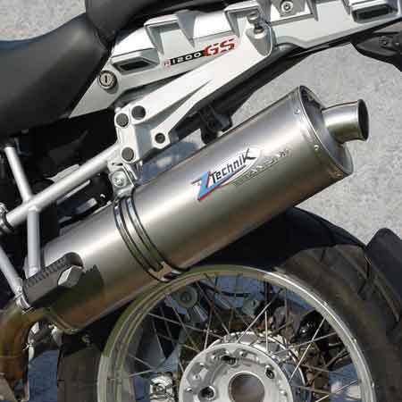 TITANIUM SLIP-ON CANISTER FOR BMW R 1200 GS