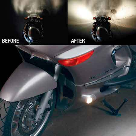 SIDE ILLUMINATION LIGHTS FOR BMW K 1200 LT