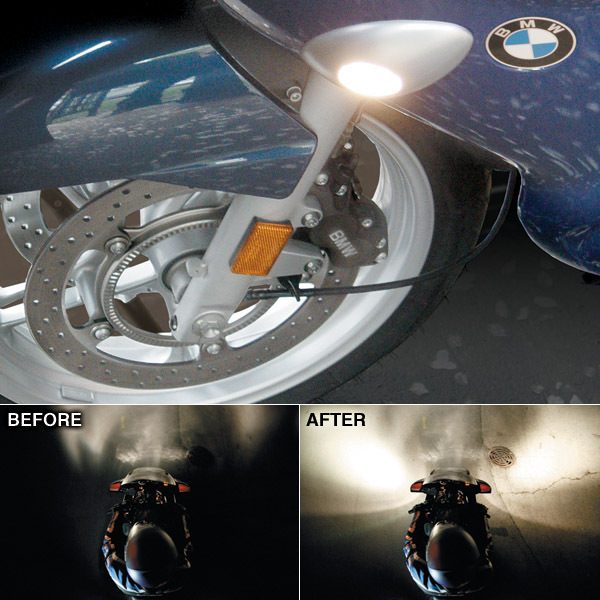 SIDE ILLUMINATION LIGHTS FOR BMW R 1100/ 1150/ 1200 RT