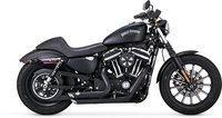 Read entire post: NEW SHORTSHOTS STAGGERED FOR HARLEY XL SPORTSTER 2014