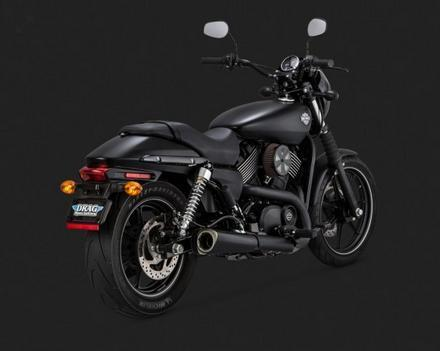 Vance & Hines Competition Series Slip-on for Street 750 and Street 500