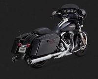 Vance & Hines Oversized 450 Chromed Slip-Ons