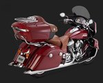 VANCE & HINES CHIEFTAIN TURNDOWN SLIP-ONS '14-UP